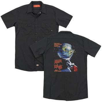 Killer Klowns From Outer Space - Invaders(Back Print) Adult Work Shirt