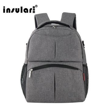 ESBONJ 2017 NEW INSULAR Mother Bag Baby Nappy Bags Large Capacity Maternity Mummy Diaper Backpack Stroller bag 10016