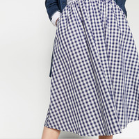 CHECK MINI SKIRT - NEW IN-WOMAN | ZARA United Kingdom