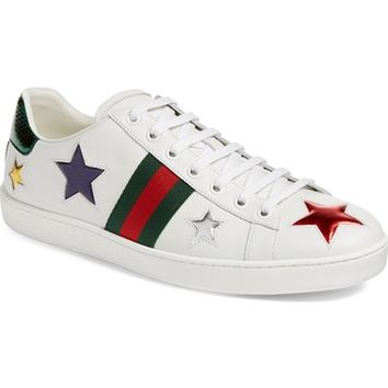 Gucci New Ace Star Sneaker (Women) | Nordstrom