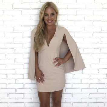 Our Natural Love Cape Dress