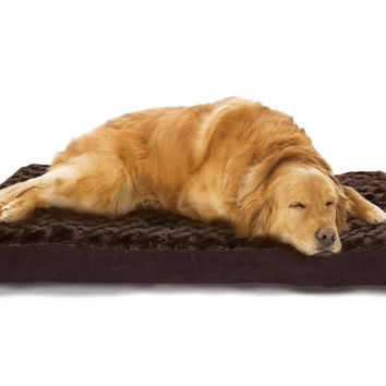 FurHaven NAP Pet Bed Egg-Crate Orthopedic Pet Mattress Deluxe Dog or Cat Bed ...