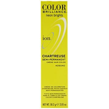Ion Color Brilliance Semi Permanent Neon Brights Hair Color Chartreuse