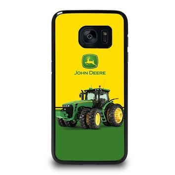 JOHN DEERE WITH TRACTOR Samsung Galaxy S7 Edge Case Cover