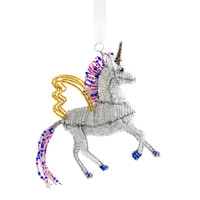 Beaded Unicorn Ornaments