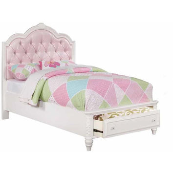 Caroline Collection Twin Storage Bed by Coaster