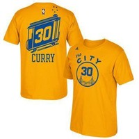 Stephen Curry - Golden State Warriors - Throwback T-Shirt