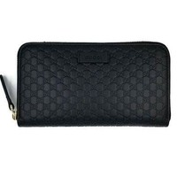 PEAP2 Gucci Guccissima Leather Continental Large Clutch Wallet
