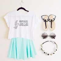 Marina Mermaids Top