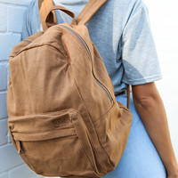 Afends - Nevermind Backpack - Brown Suede