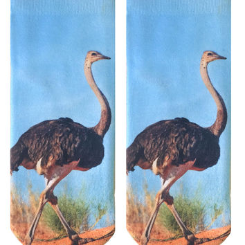 Ostrich Ankle Socks