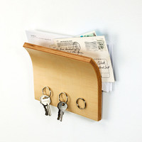 Magnetized Key Hanger