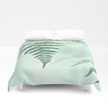 fern Duvet Cover by ARTbyJWP