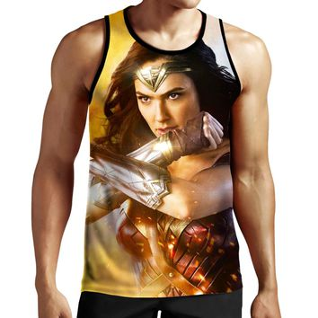 Wonder Woman X Tank Top
