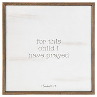 1 Samuel 1:27 Wood Wall Decor | Hobby Lobby | 1473388
