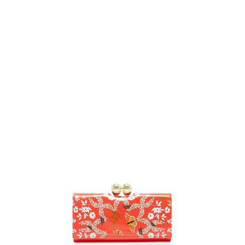 Ted Baker Milissa Kyoto Gardens Bobble Matinee Wallet | Bloomingdales's