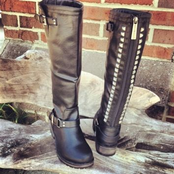 Show Stompin' Boots - Black