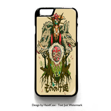 Mononoke Collage Art for iPhone 4 4S 5 5S 5C 6 6 Plus , iPod Touch 4 5  , Samsung Galaxy S3 S4 S5 Note 3 Note 4 , and HTC One X M7 M8 Case Cover