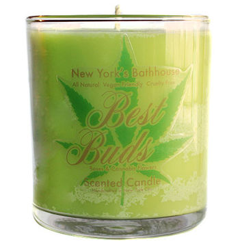 Best Buds Roses & Cannabis Flower Scented Candle