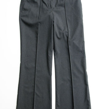 Bebe Pinstripe Front Creased Career Trouser NWT 10P