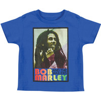 Bob Marley Boys' Rasta Childrens T-shirt Black Rockabilia