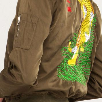 Oren Tiger Bomber Jacket
