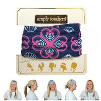 Headband in Seaclover by Simply Southern