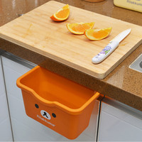 Cupboard Hanging Garbage Bin Kitchen Storage Box Trash Can