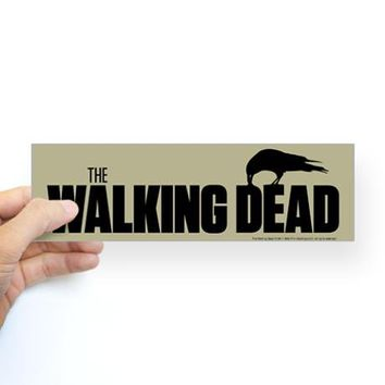 The Walking Dead Survival Bumper Sticker on CafePress.com