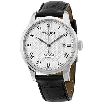 TISSOT T-CLASSIC LE LOCLE MENS WATCH - Black