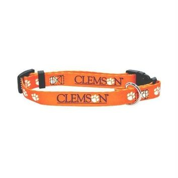 PEAPYW9 Clemson Tigers Dog Collar