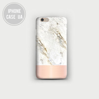 Pink Marble Case, Gold iPhone 6 Plus Case, iPhone 6 Case, iPhone 5S, iPhone 5C iPhone 5 Case,iPhone 4s Case,Samsung Galaxy S4,S5,S6