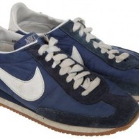 1982 Nike Original Canvas Runners UK6 SS13 LOOKBOOK - Vintage clothing from Rokit - sneakers, collector's item, trainers, running shoes, 80s, eighties, sportswear, sports
