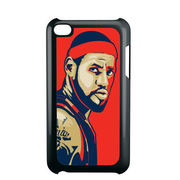 Lebron James Cleveland Fan ARt iPod Touch 4 iPod Touch 5 iPod Touch 6 Case