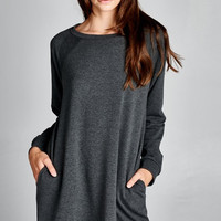 Sweatshirt Tunic Dress