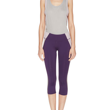 Illusion Colorblocked Capri Pant
