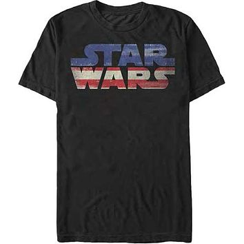 Star Wars USA Adult T-Shirt