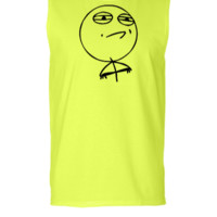 Challenge Accepted Meme - Sleeveless T-shirt
