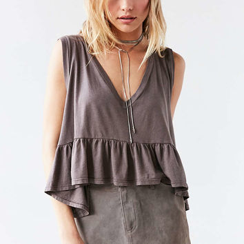 Truly Madly Deeply Josephine Babydoll Tank Top - Urban Outfitters