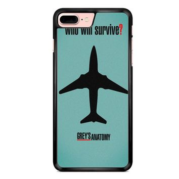 Greys Anatomy Who Will Survive iPhone 7 Plus Case