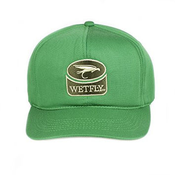 Wetfly Farmer John Flat Bill Bonded Foam Hat (Green)