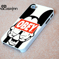 Obey Mickey Mouse iPhone 4s iphone 5 iphone 5s iphone 6 case, Samsung s3 samsung s4 samsung s5 note 3 note 4 case, iPod 4 5 Case