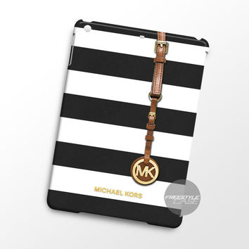 Michael Kors Jet Set Striped Black iPad Case Case Cover Series