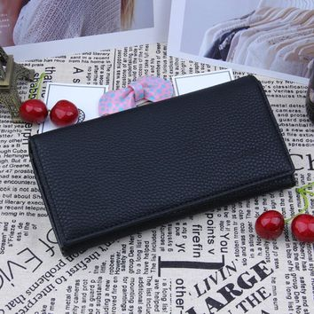 Aelicy leather women's wallet bag vintage female wallet purse fashion card holder phone pocket long women wallet carteira