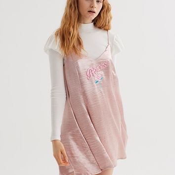 Lazy Oaf Rose Gold Princess Dress - Everything - Categories - Womens