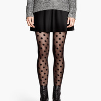 Spotted tights - from H&M