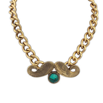 Gift Shiny Stylish Jewelry New Arrival Punk Strong Character Necklace [4918867780]