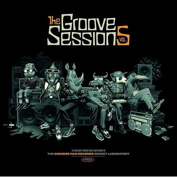 Chinese Man - Groove Sessions V.5 - (2 Pack) (Vinyl)