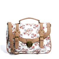 New Look | New Look Pastel Floral Satchel at ASOS