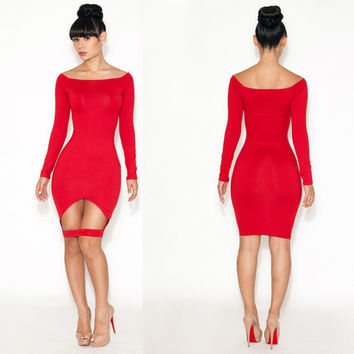 Women's Sexy Slim Party Dress Cocktail Party Clubwear = 4427450244